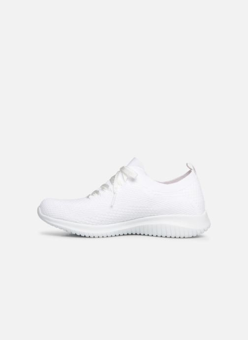 Sneakers Skechers Ultra Flex Fresh Pick Bianco immagine frontale